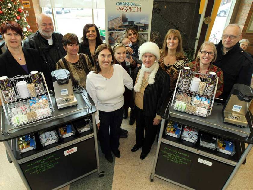 'Care Carts' donated to Windsor Regional Hospital in memory of John Meloche