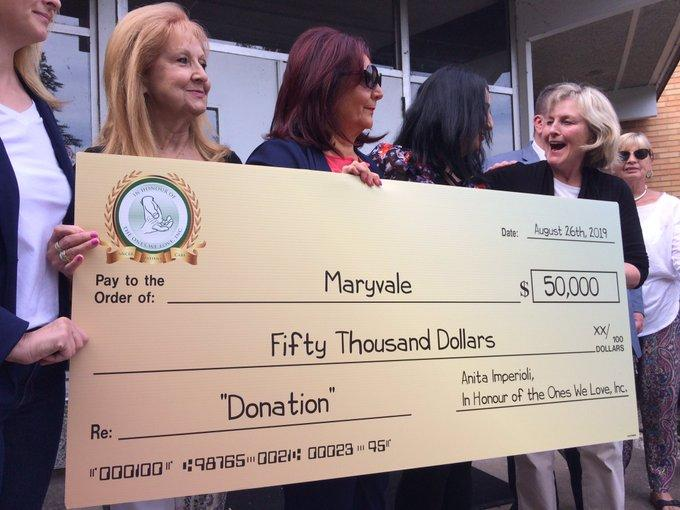 Maryvale To Use Donation To Hire Therapist